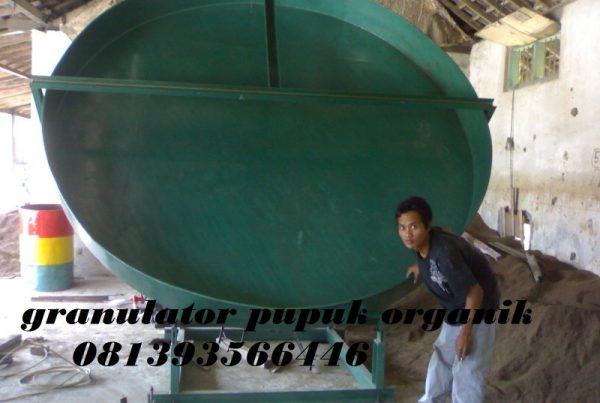 Mesin Granulator Pembuat Butiran Pupuk