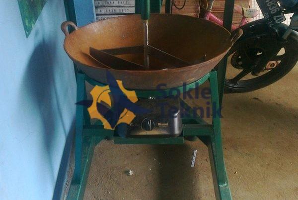 mesin pengaduk jenang dodol
