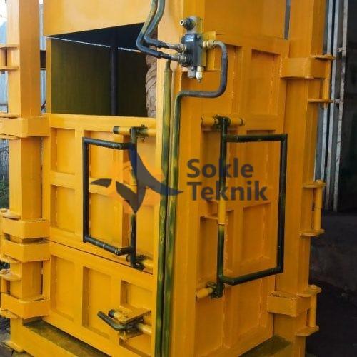 mesin press sampah hidrolik