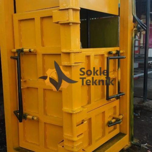 Mesin Press Hidrolik untuk Memadatkan Sampah