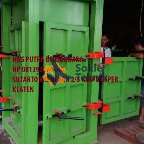 mesin press kardus / plastik
