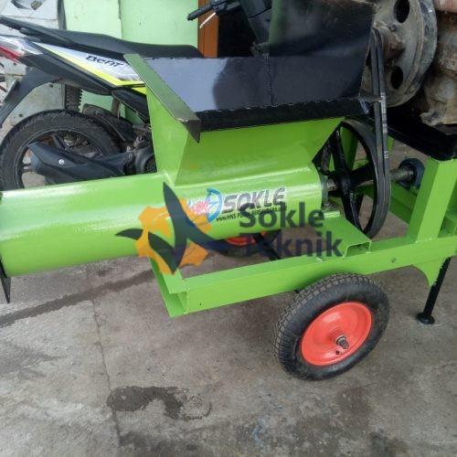 mesin peluluh tanah