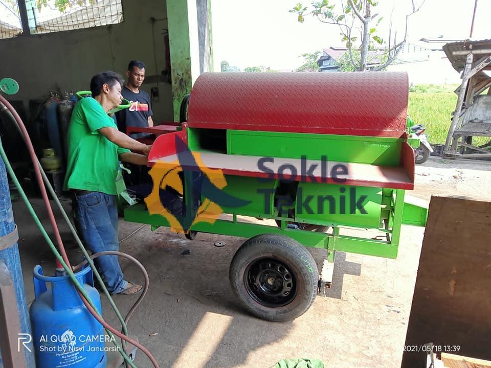 mesin perontok padi murah